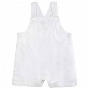 Salopette bébé blanche