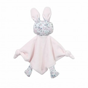 Floral Liberty Pink Rabbit Doudou