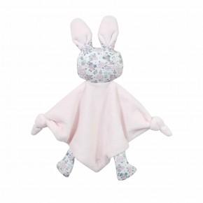 Floral Liberty Pink Rabbit Doudou