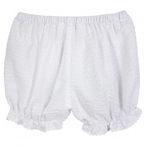 Baby Girl White Bloomers