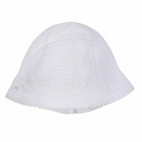 Baby Girl White Hat