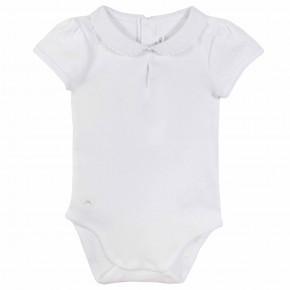 Baby Girl White Bodysuit