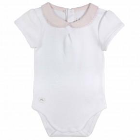 Baby Girl Pink Bodysuit