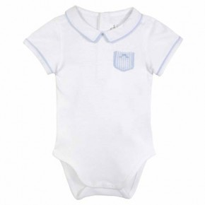 Baby boy blue bodysuit