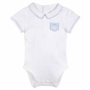 Baby boy blue bodysuit