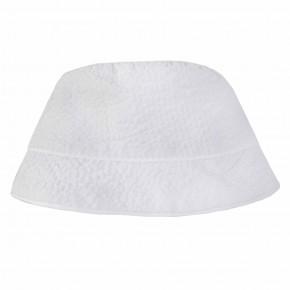 Chapeau blanc bébé garçon