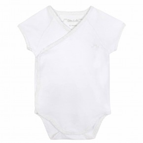 Baby Wrap White bodysuit