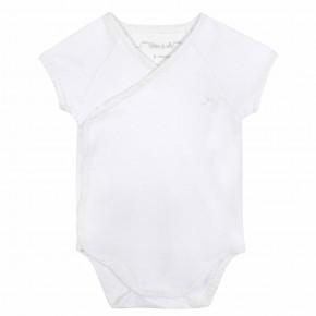 Baby Wrap White bodysuit