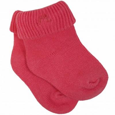 Coral Roll Cuff Socks