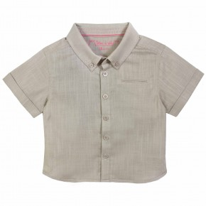Boys Camel Shirt