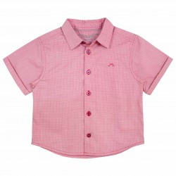 Boys Red Short sleeves shirt