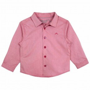 Boys red long sleeve shirt