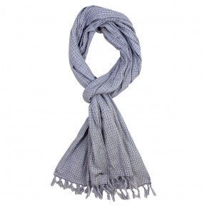 Boy Scarf with Navy Checks