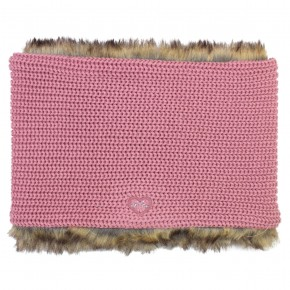 Girl Pink Neck Scarf