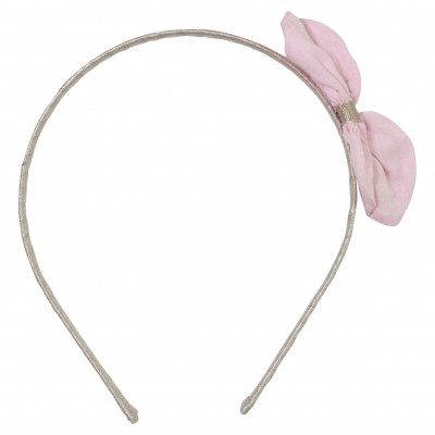 Pink Hairband with Bow