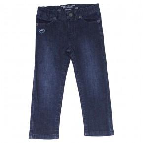 Pantalon fille bleu