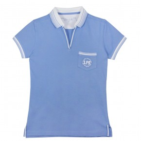 Elementary Blue Polo