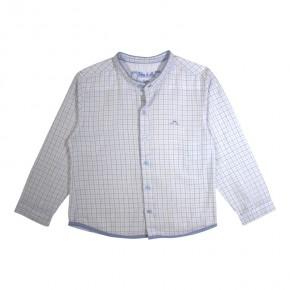 Boy Shirt Woven with Mao Collar