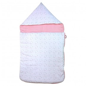 Pink Baby Nest in Organic Cotton