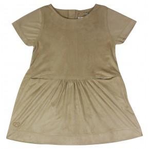 Dress in Nubuck Effect