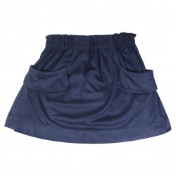 Skirt in Nubuck Effect