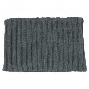 Tour de cou tricoté unisexe