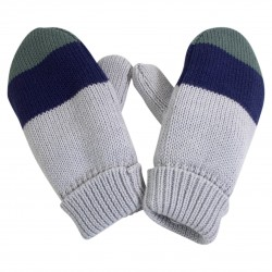 Unisex Striped Gloves