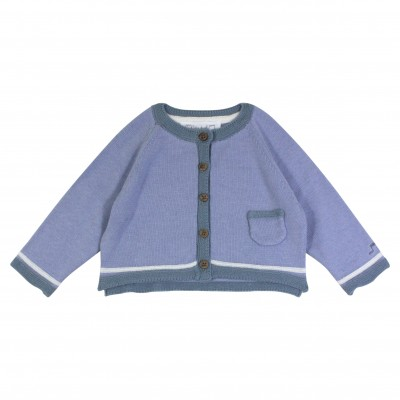 Baby Boy Blue Cardigan