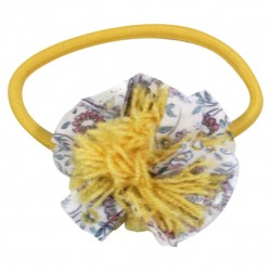 Yellow Hair elastic in liberty