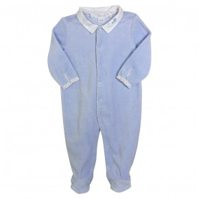 Baby Blue Fleece Pyjamas