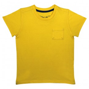 Boy's  yellow t-shirt