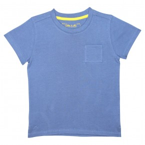 Boy's blue t-shirt
