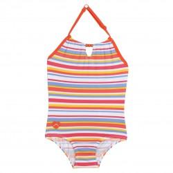 Girl Striped Swimsuit (UPF 36)