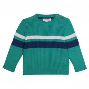 Knitted pullover with stripes Honfleur