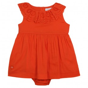 Baby romper eyelet lace Mexico