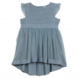Dress with embroidery on the top Party
