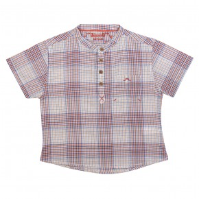 Boy shirt with checks La Bohème