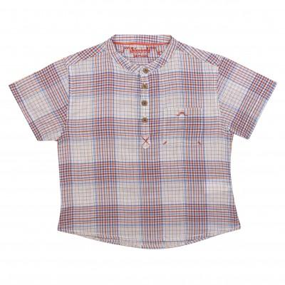 Boy shirt with checks La Bohème