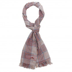 Scarf with checks La Bohème