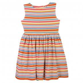 Colorful Striped Dress, made of TENCEL™