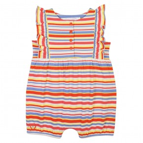 Striped romper,  made of TENCEL™