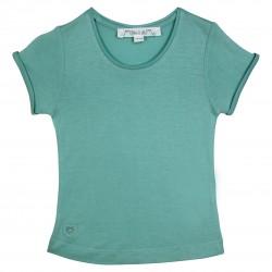 Basic blue girl t-shirt