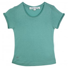 Basic aqua girl t-shirt