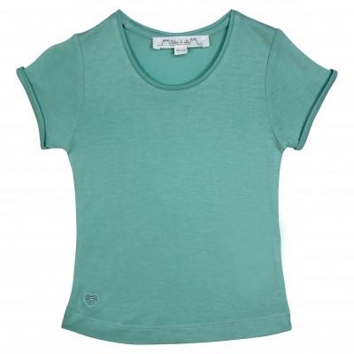 Basic aqua girl t-shirt