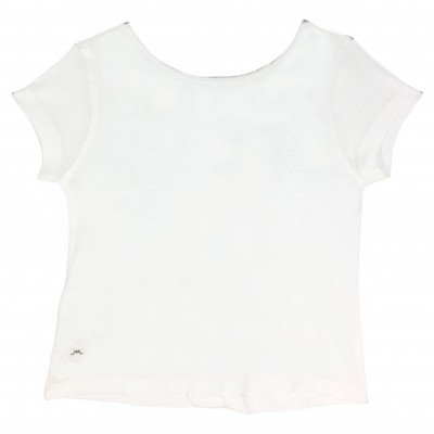 Girl t-shirt with buttons in the back
