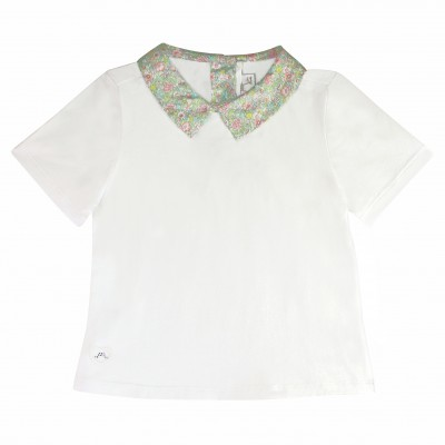 Liberty t-shirt with buttons