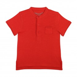Red Basic Soft Cotton Polo