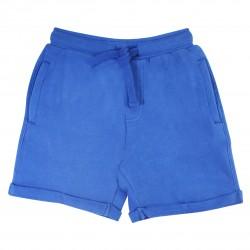 Blue Basic Shorts