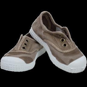 Beige Canvas Shoes