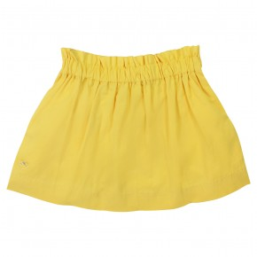 Yellow basic skirt